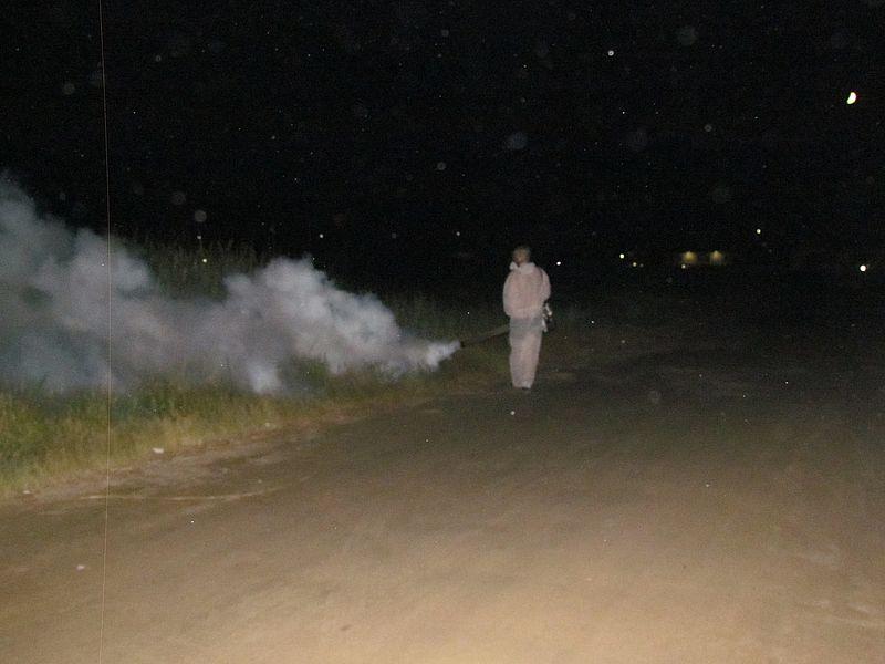 В Счастливцево в 3-й раз потравили комаров